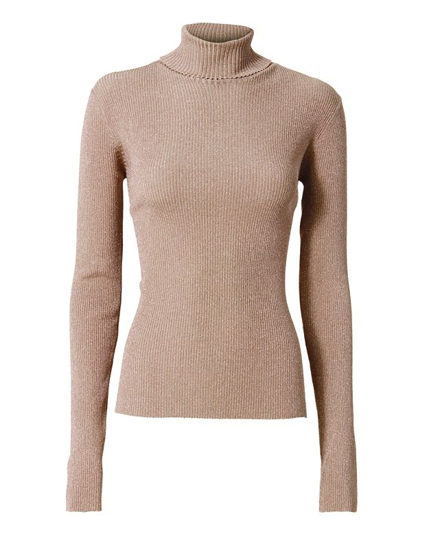 3.1 Phillip Lim Lurex Turtleneck
