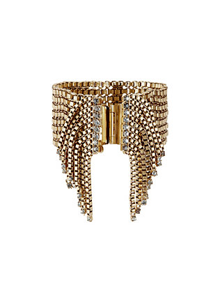Antique Chain Fringe Bracelet