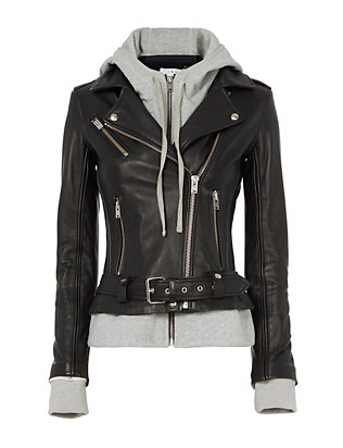IRO Harper Combo Leather Jacket