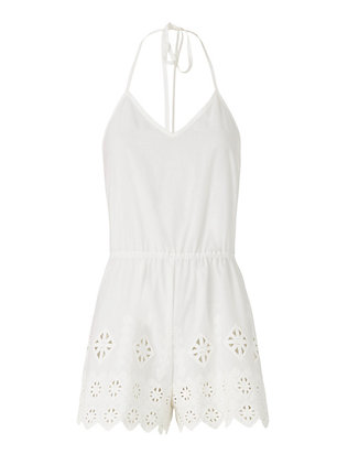 Camille Embroidery Romper