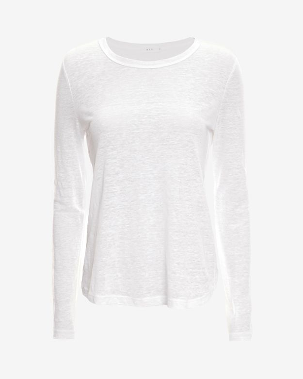 exclusive       alc-exclusive-long-sleeve-cross-back-top by alc