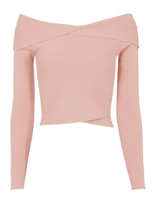 A.L.C. Off-The-Shoulder Rib Knit