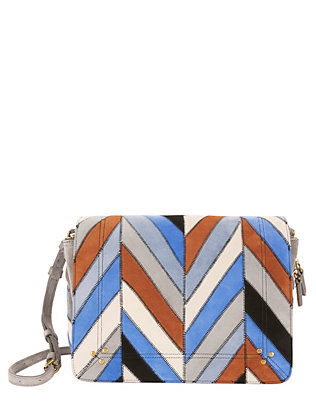 Jerome Dreyfuss Igor Patchwork Shoulder Bag