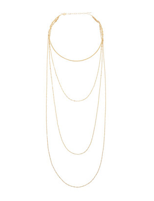Jennifer Zeuner EXCLUSIVE Summer Necklace