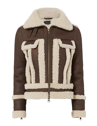 Exclusive for Intermix Megan Shearling Lamb Jacket