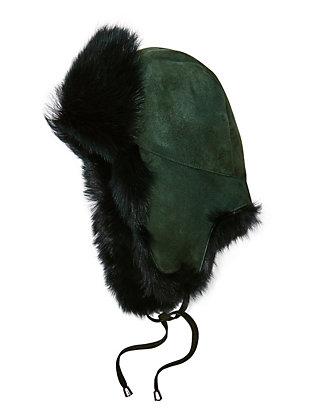 Shearling Lamb Trapper Hat