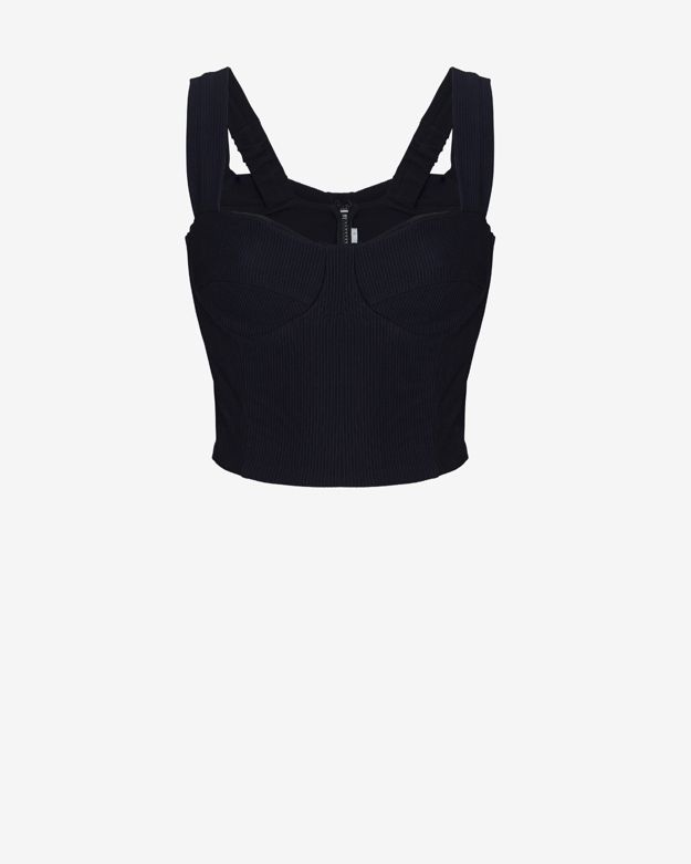 exclusive  nadia-tarr-exclusive-ribbed-bustier-top by nadia-tarr