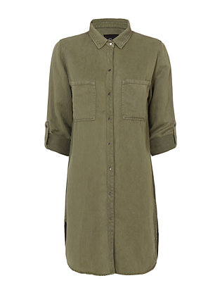 Rails EXCLUSIVE Karlie Army Shirt Dress