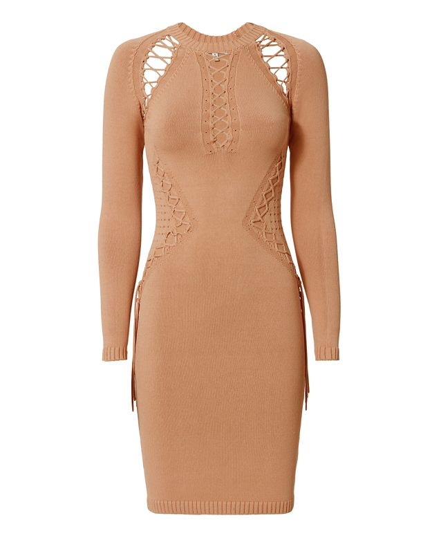Ronny Kobo EXCLUSIVE Brighton Lacing Dress