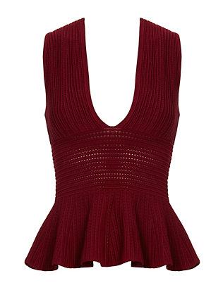 Quinn Deep V Knit
