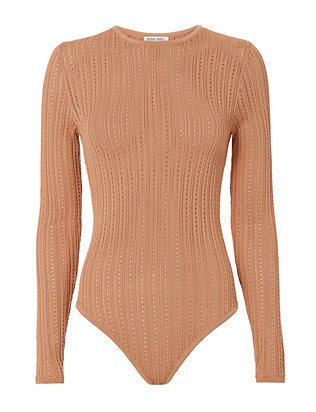 Chani Beige Bodysuit- FINAL SALE