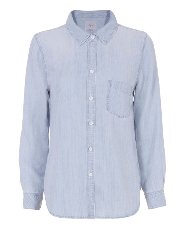 Rails Ingrid Faded Denim Shirt