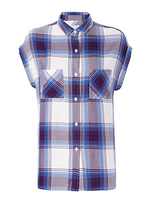 Rails EXCLUSIVE Britt Plaid Sleeveless Shirt