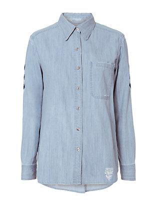 Rails Sedona Embroidered Denim Shirt