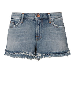 J Brand Sachi Low-Rise Frayed Shorts