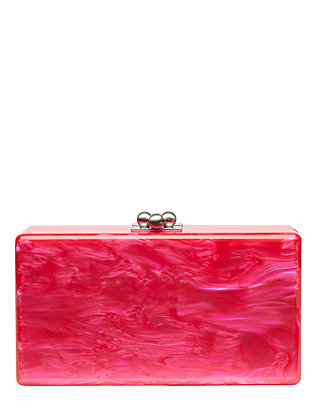 Jean Hot Pink Clutch