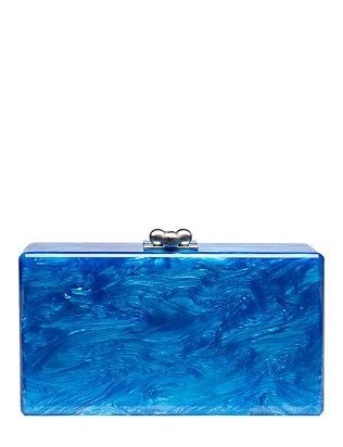 Jean Ocean Blue Clutch