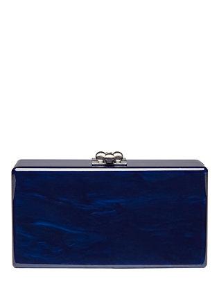 Jean Sapphire Blue Clutch