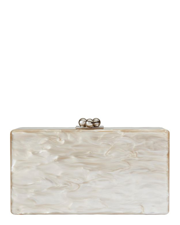 Edie Parker Jean Taupe Clutch