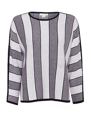 Intropia Wide Stripe Sweater