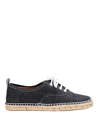 Flamingos Jetset Lace-Up Denim Espadrille Sneaker