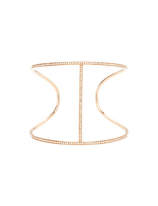 19Fifth Diamond Vertical Bar Cuff