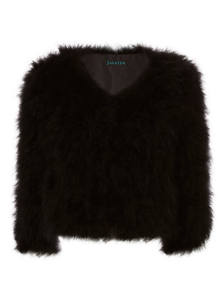 Fifi Marabou Feather Bolero