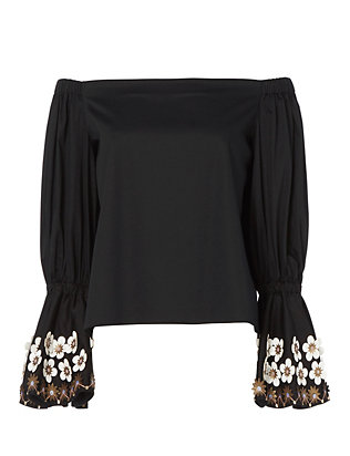 Alexis Juniper Bell Sleeve Top
