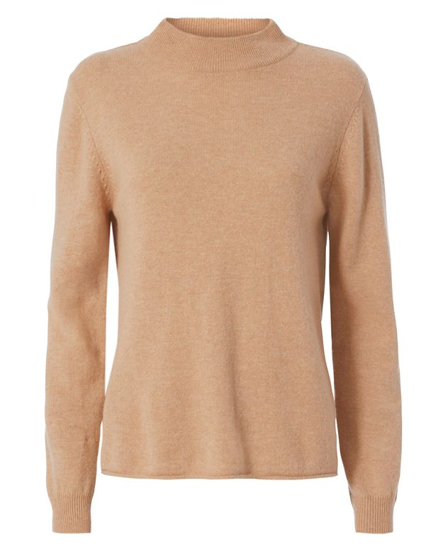 Michelle Mason Knit Turtleneck: Camel