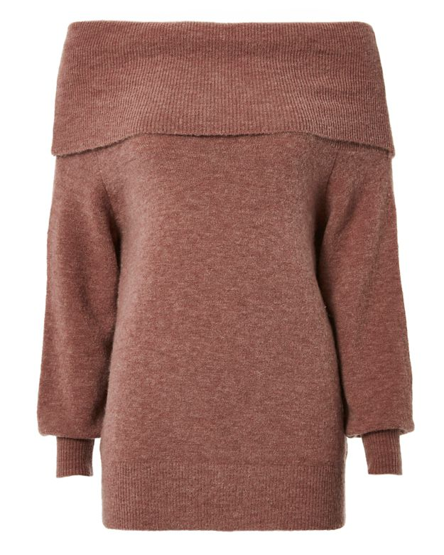 Michelle Mason Off-The-Shoulder Sweater
