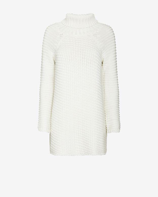 mason-by-michelle-mason-turtleneck-sweater-dress:-white by mason-by-michelle-mason