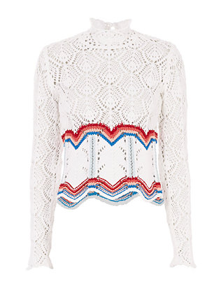 Peter Pilotto Color Stripe Knit