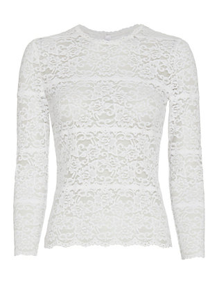 LOVER EXCLUSIVE Leila Lace Knit Tee
