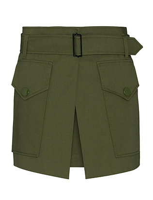 Barbara Bui Two Pocket Military Skirt