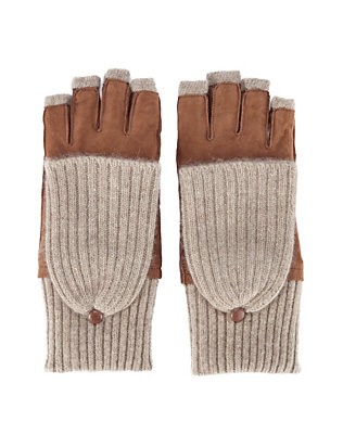 Pop Top Fingerless Gloves