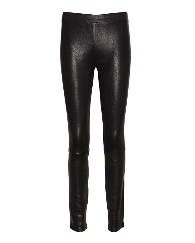 J Brand Clean Pull On Leather Legging