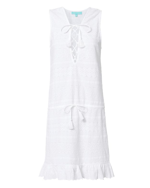 Melissa Odabash Layla Lace-Up Dress
