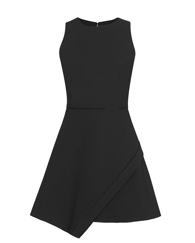 Elizabeth and James Ayla Asymmetric Flare Dress
