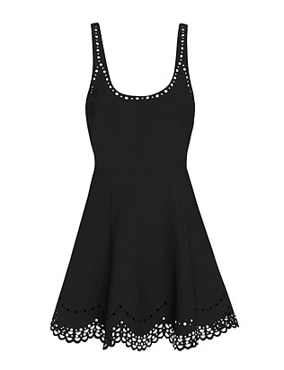 Elizabeth and James Staveley Laser Cut Flare Tank Dress