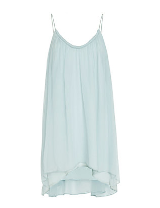 Elizabeth and James Malie Pleated Chiffon Dress