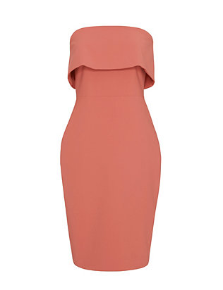 Elizabeth and James EXCLUSIVE Melinda Strapless Dress