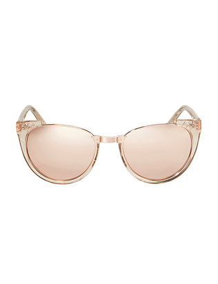 Linda Farrow Rimless Cat-Eye Sunglasses