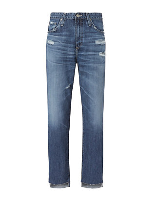 Phoebe Step Up Hem Jeans