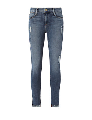 FRAME Le High Forest Skinny Jeans