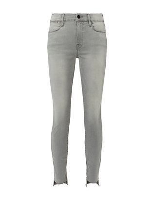 FRAME Le High Grey Skinny Jeans