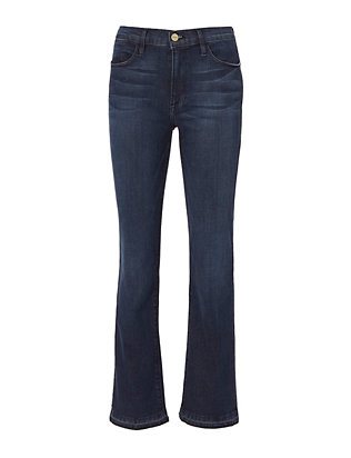 FRAME Le High Riverdale Straight Jeans