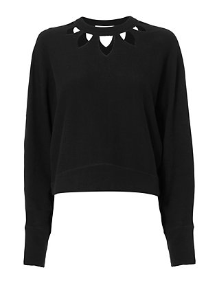 IRO Liziana Laser Cut Sweater