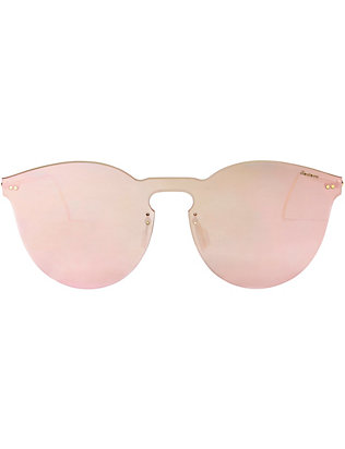 Illesteva Leonard II Rose Mask Sunglasses