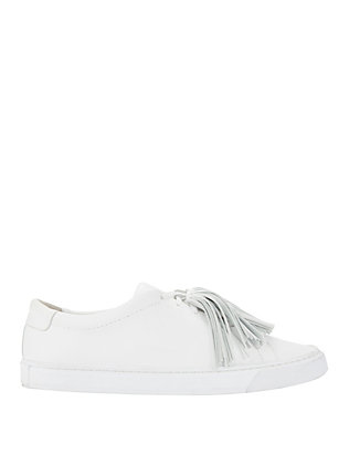 Loeffler Randall Logan Tassel Leather Sneakers