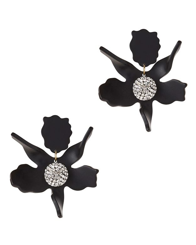 Lele Sadoughi Lily Crystal Earrings